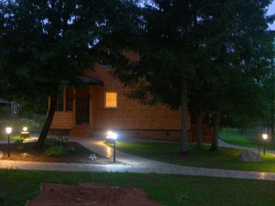 ночное освещение сада 1