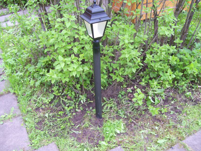 светильник садовый 6